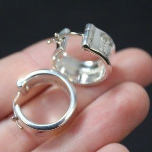 Tiffany & Co. Wide Hoop Earrings